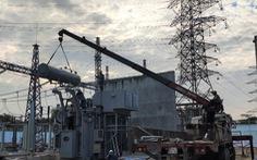 Máy biến áp thứ 2 trạm biến áp 110kV Phú Hòa Đông chính thức hoạt động