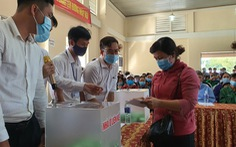 94 hộ dân bốc thăm nhận đất tái định cư ở vùng dự án sân bay Long Thành