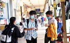 Sinh viên đổ về quê tránh dịch