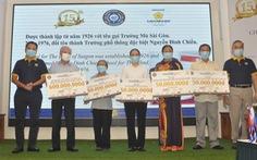 Giải golf từ thiện trao 650 suất học bổng cho học sinh có hoàn cảnh khó khăn