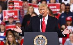 Ông Trump lại nói 'thắng cử' khi đến Georgia để vận động ghế thượng viện