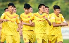 Công Phượng vắng mặt ngày đầu tuyển Việt Nam tập luyện