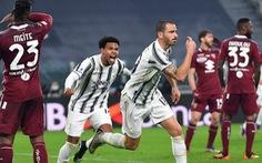 Bonucci ghi bàn phút 89, Juventus ngược dòng kịch tính tại derby Turin