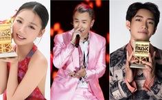 Binz, Amee, Quang Đăng nhận giải tại MAMA 2020