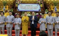 Quỹ đạo Phật ngày nay vận động người hiến mô, tạng và hiến xác cho y học