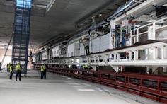 Giữa tháng 1-2021: chạy thử robot đào hầm đầu tiên tuyến đường sắt Nhổn - ga Hà Nội