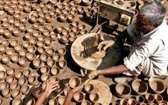 Khôi phục tách trà đất nung truyền thống của Ấn Độ