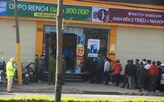 Tên trộm đâm gục bảo vệ cửa hàng Thế giới di động, cướp hơn 10 điện thoại