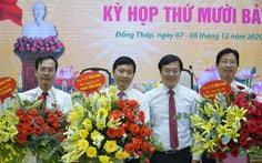 Đồng Tháp bầu mới chủ tịch và hai phó chủ tịch UBND tỉnh