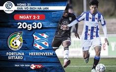Lịch thi đấu CLB Heerenveen của Văn Hậu ngày 2-2