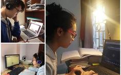 Trường THCS & THPT Nguyễn Tất Thành cho 100% học sinh học trực tuyến