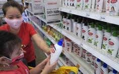 Cho trẻ dùng dung dịch sát khuẩn nhanh, có tốt bằng xà bông?