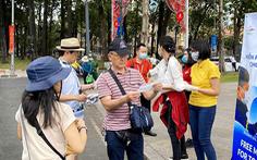 Lượng khách quốc tế đến TP.HCM giảm quá nửa