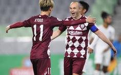 Hai kiến tạo đẳng cấp ở tuổi 35 của Iniesta tại AFC Champions League