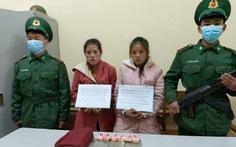 Bắt hai thiếu nữ người Lào vận chuyển ma túy vào Việt Nam