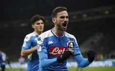 Napoli hạ Inter ở Cúp quốc gia Ý