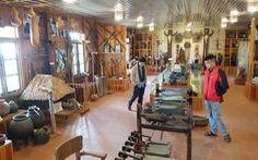 'Bảo tàng' Churu ở nhà thờ Ka Đơn