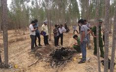 Phát hiện thi thể chết cháy nghi là đối tượng giết bé 10 tuổi ở Đồng Nai