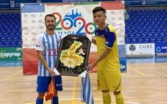 Tuyển futsal Việt Nam thắng trận đầu tiên tại Tây Ban Nha