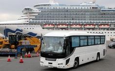500 hành khách sẽ rời du thuyền Diamond Princess hôm nay