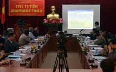 Đắk Lắk thi tuyển giám đốc sở và bí thư huyện ủy