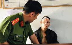 Trần Duy Chinh bị bắt với súng K54 và một trái lựu đạn