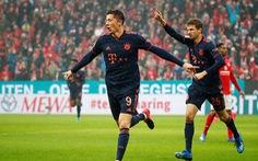 Lewandowski ghi bàn thứ 22, Bayern Munich trở lại ngôi đầu bảng