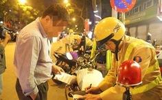 Người vi phạm giao thông được nộp tiền phạt qua Cổng dịch vụ công quốc gia