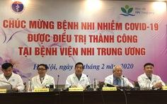 Bệnh nhi 3 tháng tuổi, ca bệnh COVID-19 nhỏ nhất Việt Nam xuất viện
