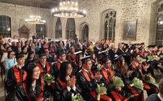 26 tân bác sĩ Việt Nam được tốt nghiệp theo chuẩn Châu Âu