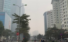 Đường phố vắng xe, Hà Nội vẫn ô nhiễm không khí nghiêm trọng