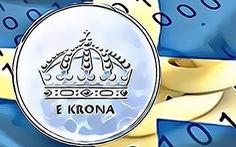 Thụy Điển thử nghiệm tiền số ngân hàng trung ương đầu tiên trên thế giới