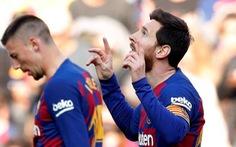 Messi ghi 4 bàn thắng giúp Barca đè bẹp Eibar