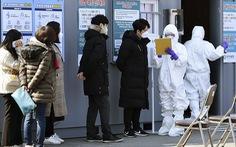 Hàn Quốc thông báo số người nhiễm corona tăng vọt: 346 ca