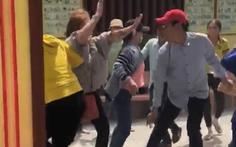 Truy lùng nhóm cướp táo tợn đánh du khách tại chùa Lầu
