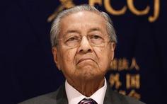 Ông Mahathir được giữ lại làm thủ tướng lâm thời