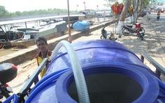 Người dân miền Tây 'khát' nước ngọt trầm trọng