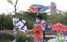 Mùa diều lộng gió ở Sài Gòn