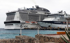 Du thuyền MSC Meraviglia chở 6.000 người bị giữ tại cảng Mexico
