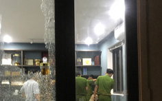 Hàng chục thanh niên xông vào đập phá biệt thự của đại gia bất động sản