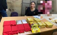 Bắt 'nữ quái' trong đường dây ma túy xuyên quốc gia, thu 10 bánh heroin