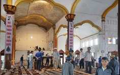 Nhà thờ Bùi Chu đang hạ giải?