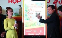 Ông Trương Tấn Sang thăm, chúc tết HDBank, Vietjet.