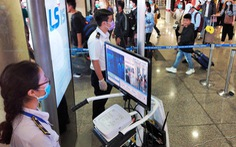 Giám sát chặt 64 khách quá cảnh Trung Quốc trên chuyến bay đến TP.HCM