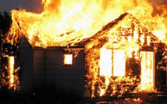 Cháy nhà giữa đêm khuya, 3 cha con chết thảm