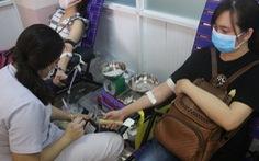 TP.HCM: Hơn 1.000 người tham gia hiến máu
