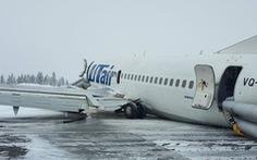 Gặp phải 'gió đứt', máy bay Nga chở gần 100 người hạ cánh bằng bụng