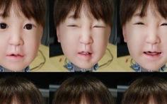 Lần đầu tạo robot biết nhăn mặt khi đau