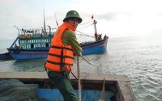 Cứu hộ 11 thuyền viên tàu bị sóng đánh vỡ mạn thuyền trên biển