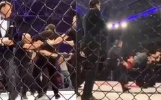 Trọng tài ăn đòn nhừ tử trên sàn đấu MMA vì...'thiên vị'